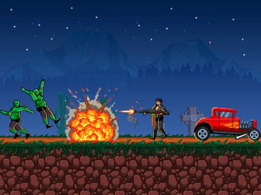 Play Drive or Die – Zombie Pixel Earn to Epic Racing Game