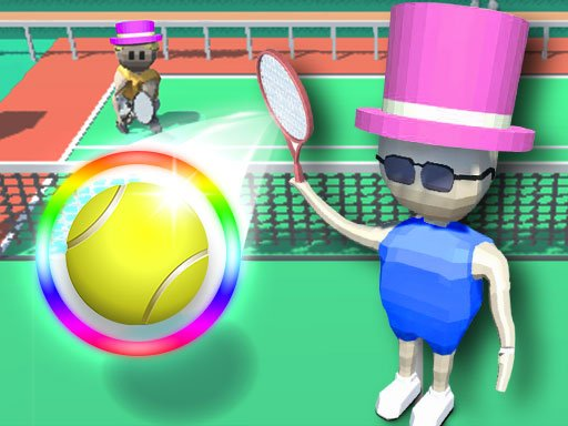 Play Cubic Tennis Game