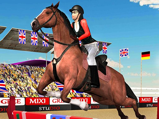 Play Horse Jumping Show 3D Game