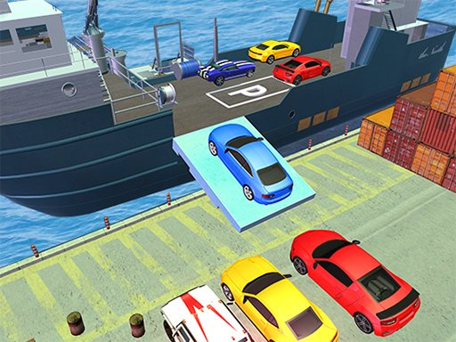 Play Car Transporter Ship Simulator Game