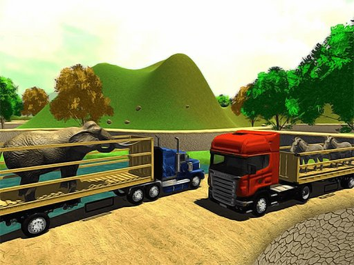 Play Offroad Animal Truck Transport Simulator 2020 Game