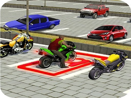 Play City Bike Parking 3D Game