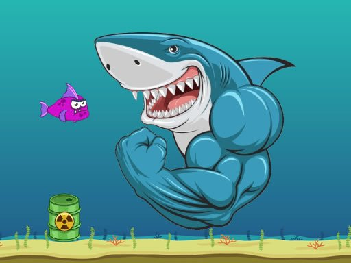 Play Scary Mad Shark Game