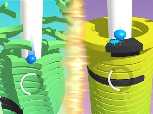 Play Stack Ball Helix Game