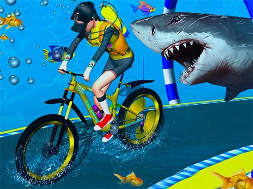 Play Underwater Cycling Adventure Game