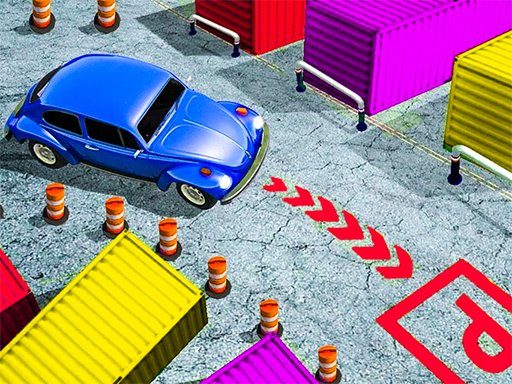 Play Classic Car Parking 3D Game