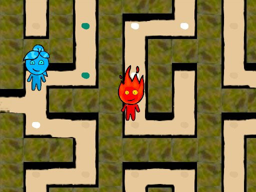 Play Fireboy and Watergirl Maze Game