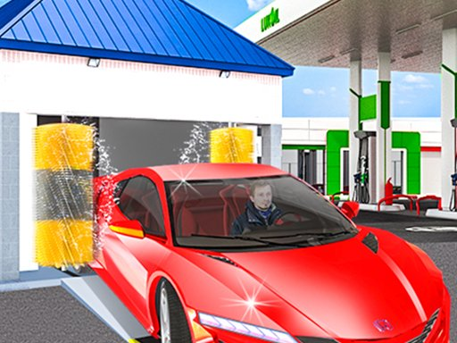 Play Gas Station: Car Parking Game