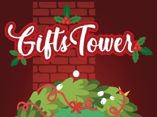 Play Gift tower Fall Game