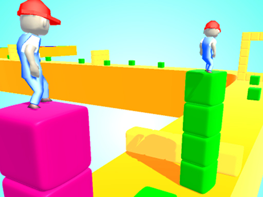 Play Cube Tower Surfer Game