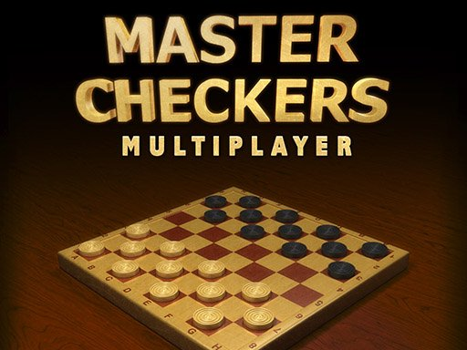 Play Master Checkers Multiplayer Game