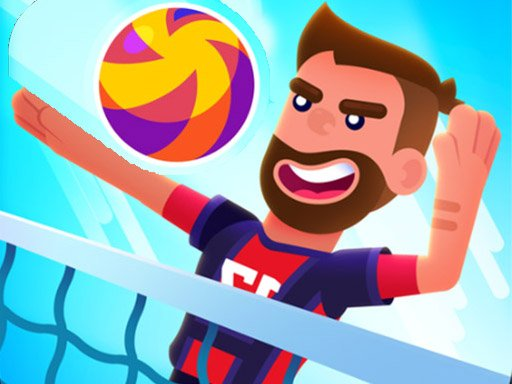 Play Monster Head Soccer Volleyball Game