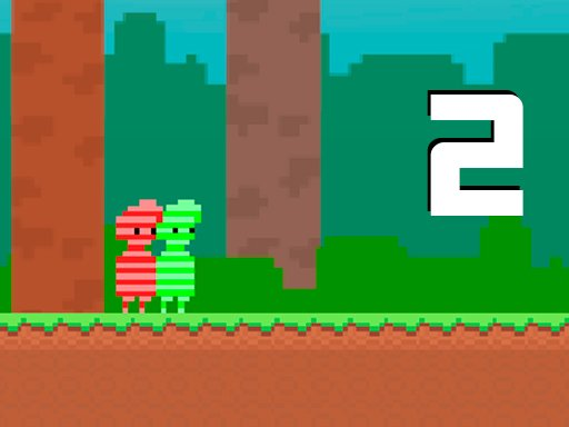 Play Red and Green 2 Candy Forest Game