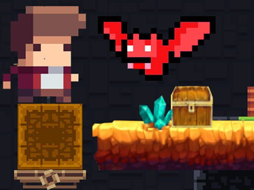 Play Tiny Man And Red Bat Game