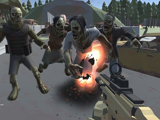 Play Poligon War Zombie Apocalypse Game