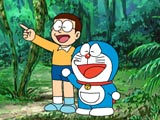 Play Doraemon Jungle Hunting Game
