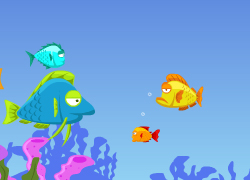Play Fish Eat Fish 3 Players Game