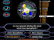 Play Simpsons Millionaire Game