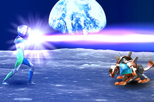 Play Ultraman vs Boss Monster Game