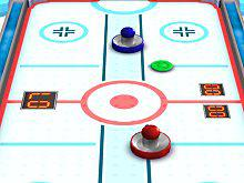Play 3D Air Hockey Game