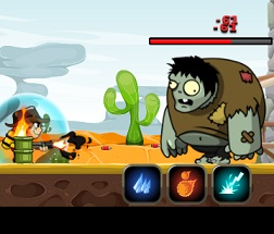 Play Cowboy Vs Zombie Game