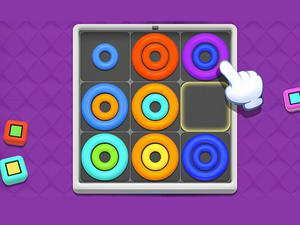 Play Neon Circles Color Sort Puzzle Game