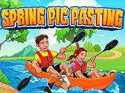 Play Spring Pic Pasting Game