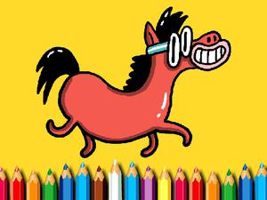 Play Bts Pony Coloring Book Game