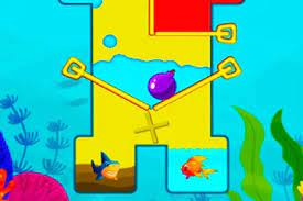 Play Fish Rescue Pull The Pin Game