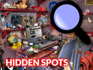 Play Hidden Spots In The Room Game