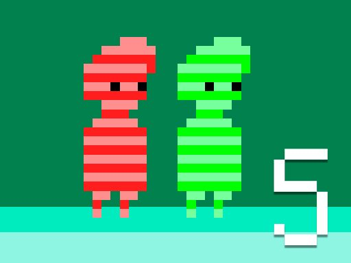 Play Red and Green 5 game