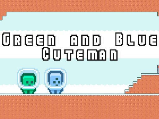 Play Green and Blue Cuteman Game